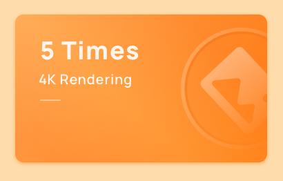 Add 4K Rendering